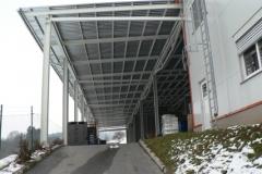 ocelový přístřešek pro Lukovplast Český Dub